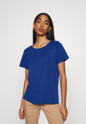 VISUS  - Print T-shirt - mazarine blue