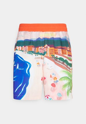 CIUDAD  - Shorts - cherry tomato multi