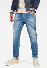 G-Star - ARC 3D SLIM - Džíny Slim Fit - light blue - 0