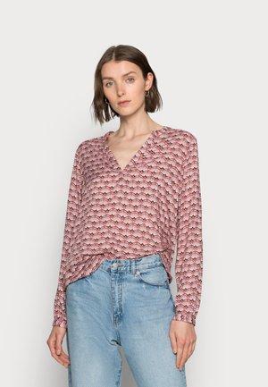 EVA TILLY BLOUSE - Maglietta a manica lunga - bodo/brown