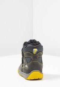 Lurchi - JAUFEN TEX - Zimní obuv - grey/yellow - 3