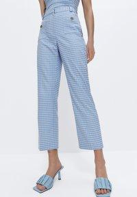 Uterqüe - Trousers - light blue - 0