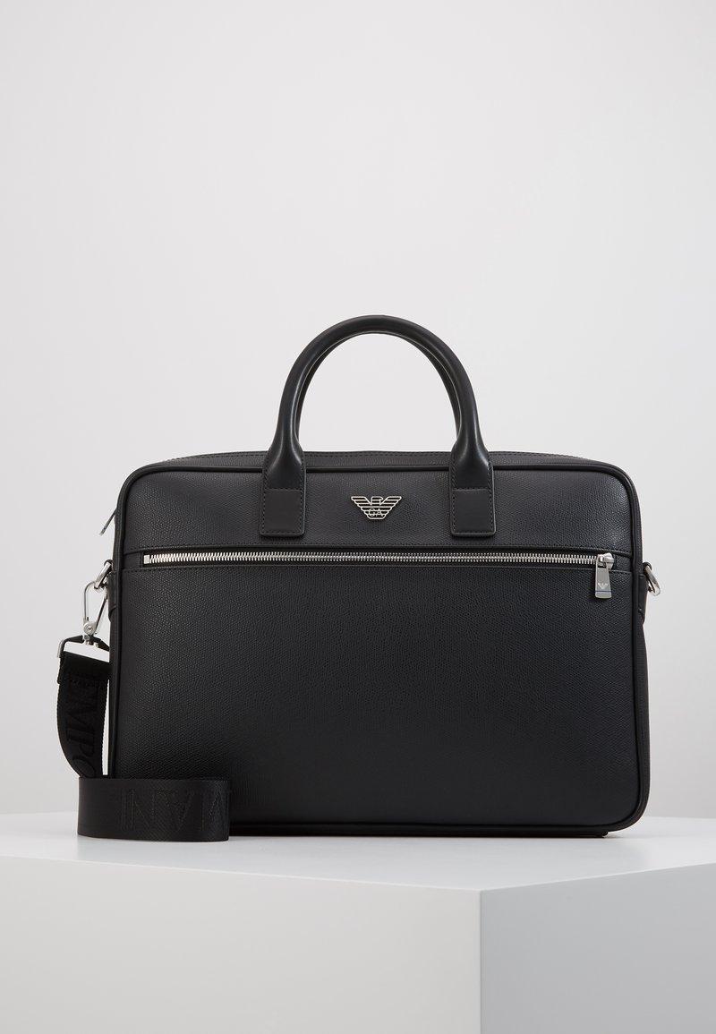 Emporio Armani - Briefcase - black