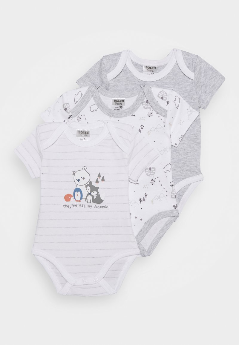 Jacky Baby - 3 PACK - Body - grey