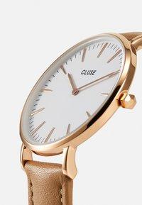 Cluse - Boho Chic - Hodinky - rose gold-coloured/white/hazelnut - 4