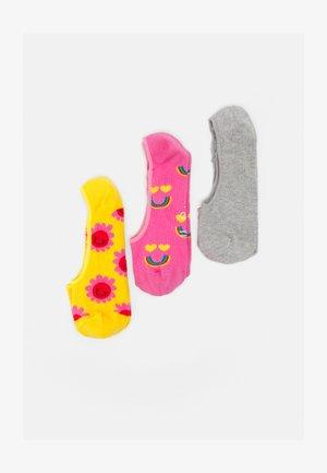 SMILING FACE 3 PACK - Trainer socks - multi