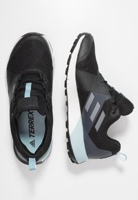 adidas Performance - TERREX TWO GORE TEX TRAIL RUNNING SHOES - Laufschuh Trail - core black/grey three/ash grey - 1