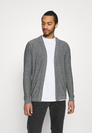 JJPORTER CARDIGAN - Neuletakki - grey melange/cloud dance