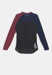 POC - PURE  - Langarmshirt - red/turmaline navy/uranium black - 7