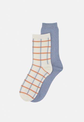 MIX SOCK 2 PACK - Socks - eventide/white