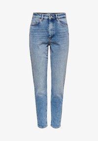 ONLVENEDA LIFE MOM FIT - Slim fit jeans - light blue