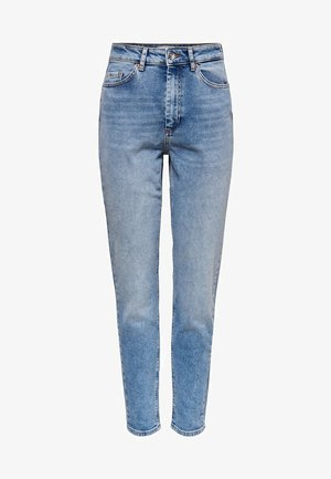 ONLVENEDA LIFE MOM FIT JEANS - Slim fit jeans - light blue