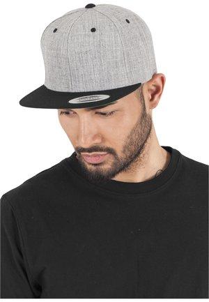 CLASSIC SNAPBACK 2-TONE - Lippalakki - light grey/black