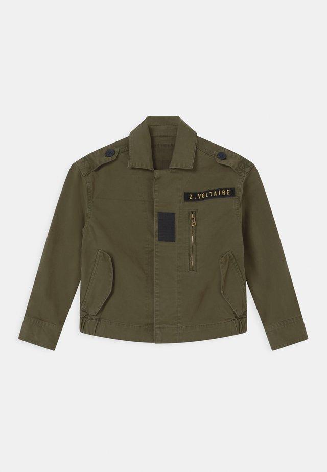 Lett jakke - khaki