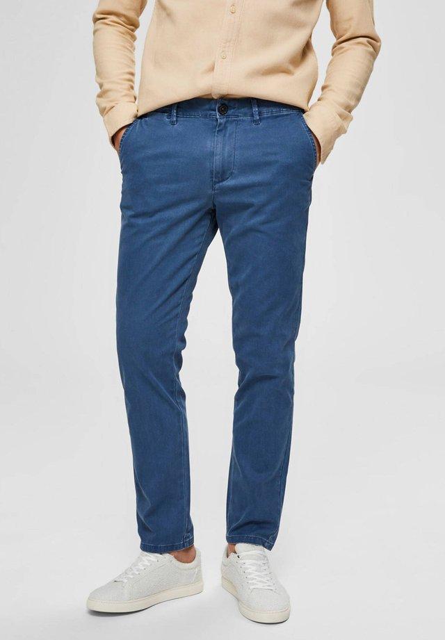 Spodnie materiałowe - blau (51)