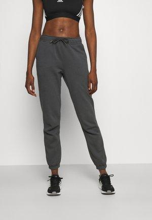 REGULAR PANTS - Tracksuit bottoms - gray
