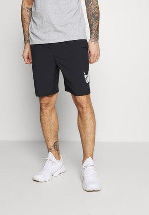 SHORT - Short de sport - black/gray