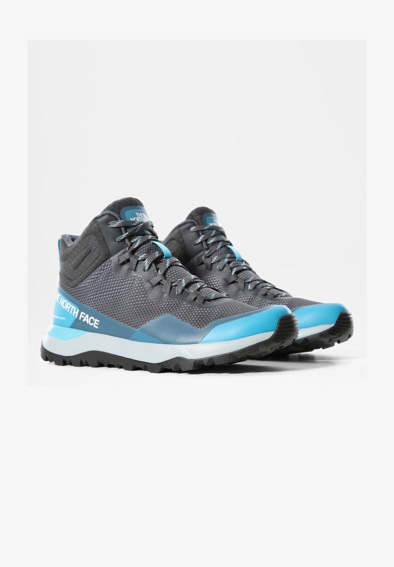 The North Face - ACTIVIST MID FUTURELIGHT - Mountain shoes - zinc grey maui blue