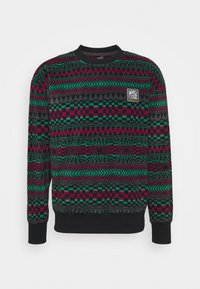 Quiksilver - SOUL - Fleece jumper - true black - 0
