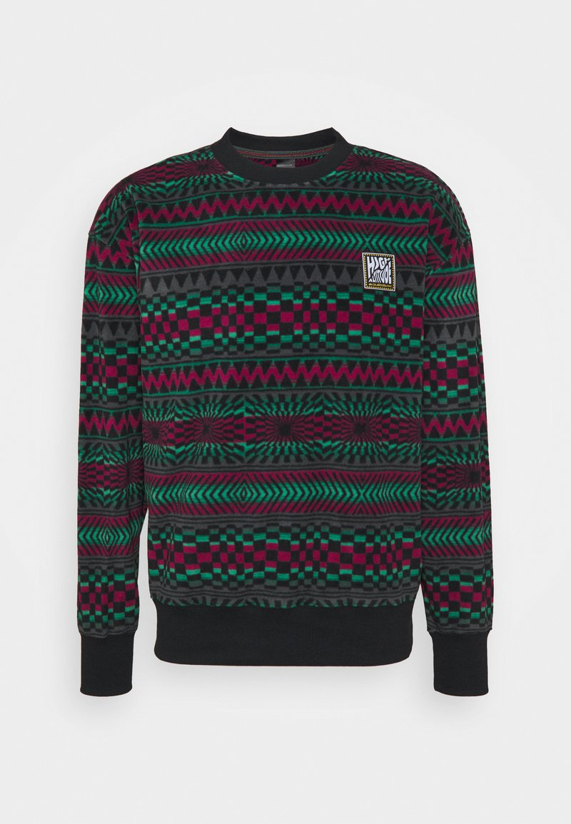 Quiksilver - SOUL - Fleece jumper - true black