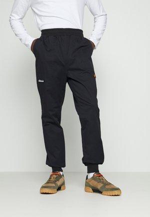 DUCCIO PANT - Cargo trousers - black