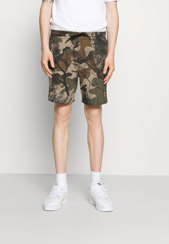 Teplákové kalhoty - hemp/brooxi/eargrn