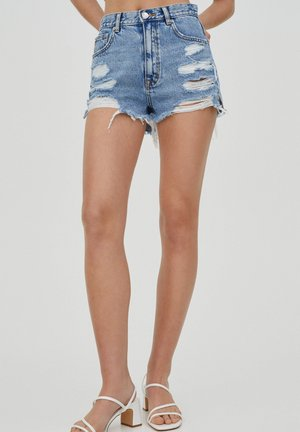 Shorts di jeans - royal blue