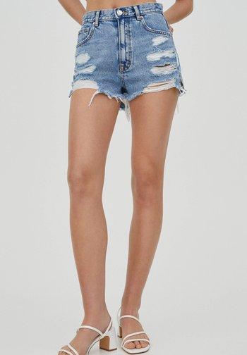 Shorts di jeans - royal blue