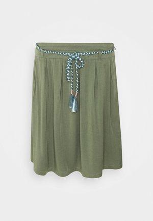 DEBBIE - Spódnica trapezowa - olive