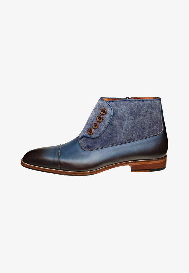 ARIBARTO - Korte laarzen - donkerblauw