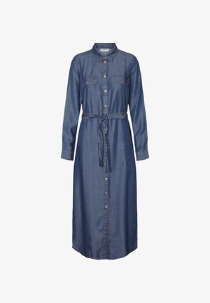 Maxi dress - medium blue denim