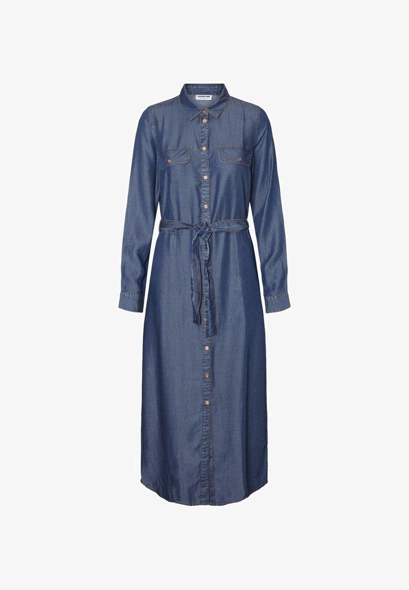 Noisy May - Maxi dress - medium blue denim