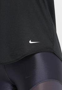 Nike Performance - DRY TANK ELASTIKA - T-shirt sportiva - black - 6