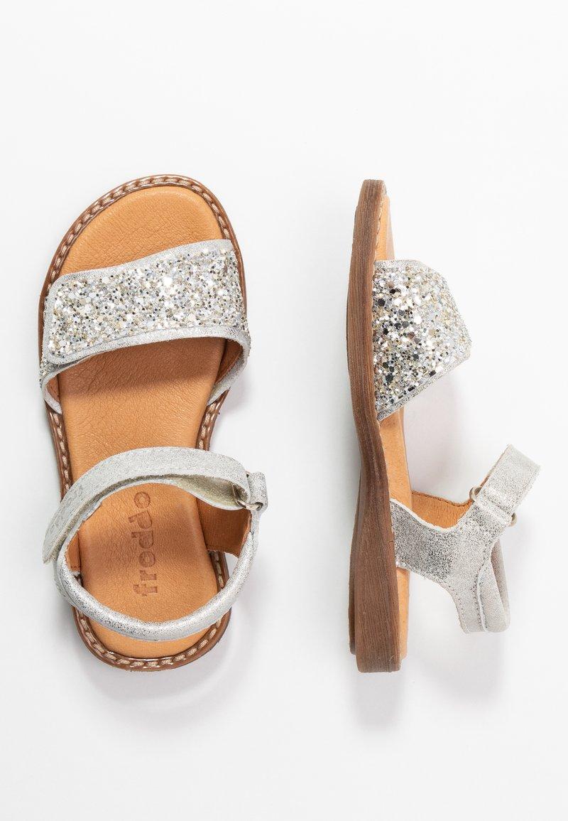Froddo - LORE SPARKLE MEDIUM FIT - Sandals - silver