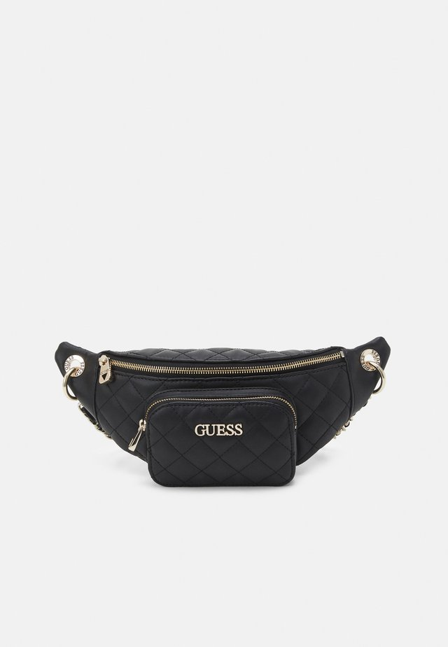 ILLY CROSSBODY BELT BAG - Bältesväska - black