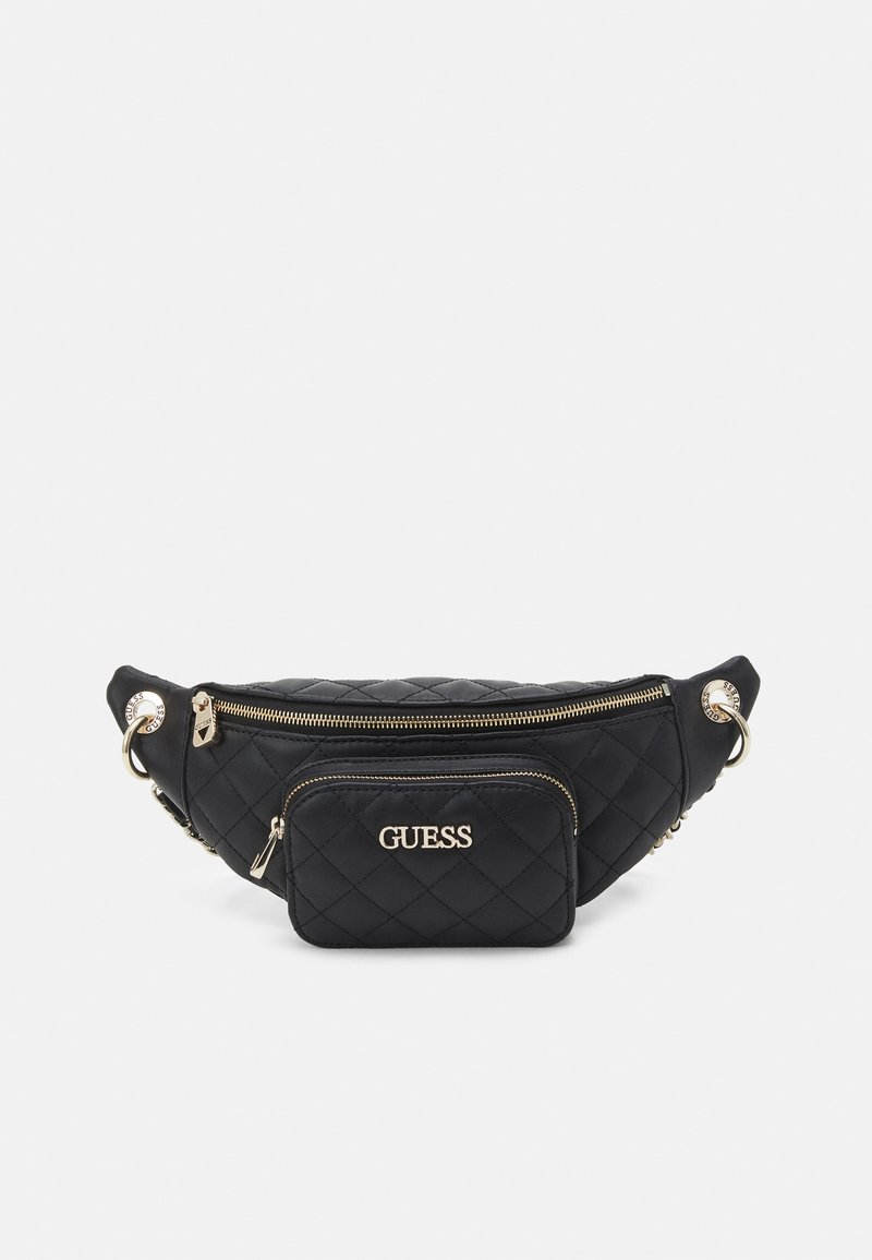 Guess - ILLY CROSSBODY BELT BAG - Bum bag - black