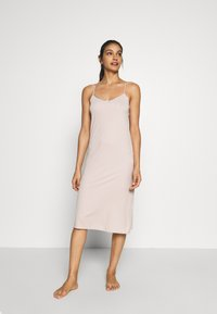 Marks & Spencer London - FULL SLIPS 2 PACK - Nightie - black mix - 2