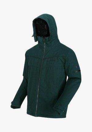 Outdoor jacket - deep pine