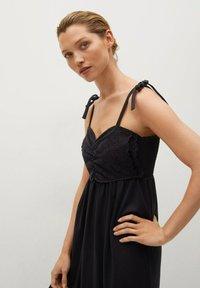 Mango - INES - Day dress - zwart - 2