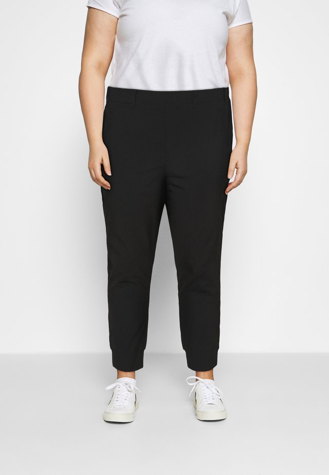 KCHAN PANTS - Bukse - black deep