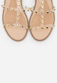 Missguided - DOME STUD GLADIATOR  - Sandals - perspex - 5