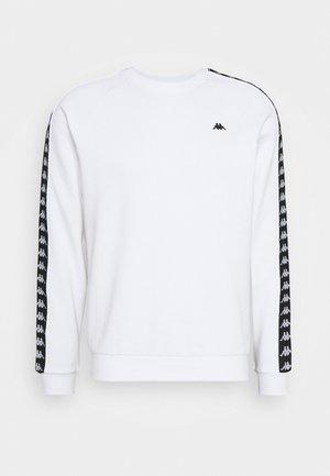 HARRIS CREW - Sweatshirt - bright white