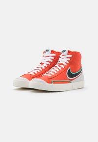 Nike Sportswear - BLAZER MID '77 INFINITE - Sneakers hoog - team orange/baroque brown/arctic pink - 3