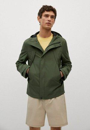 MIT KAPUZE - Outdoor jacket - khaki