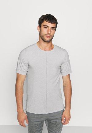 T-paita - smoke grey/white/black