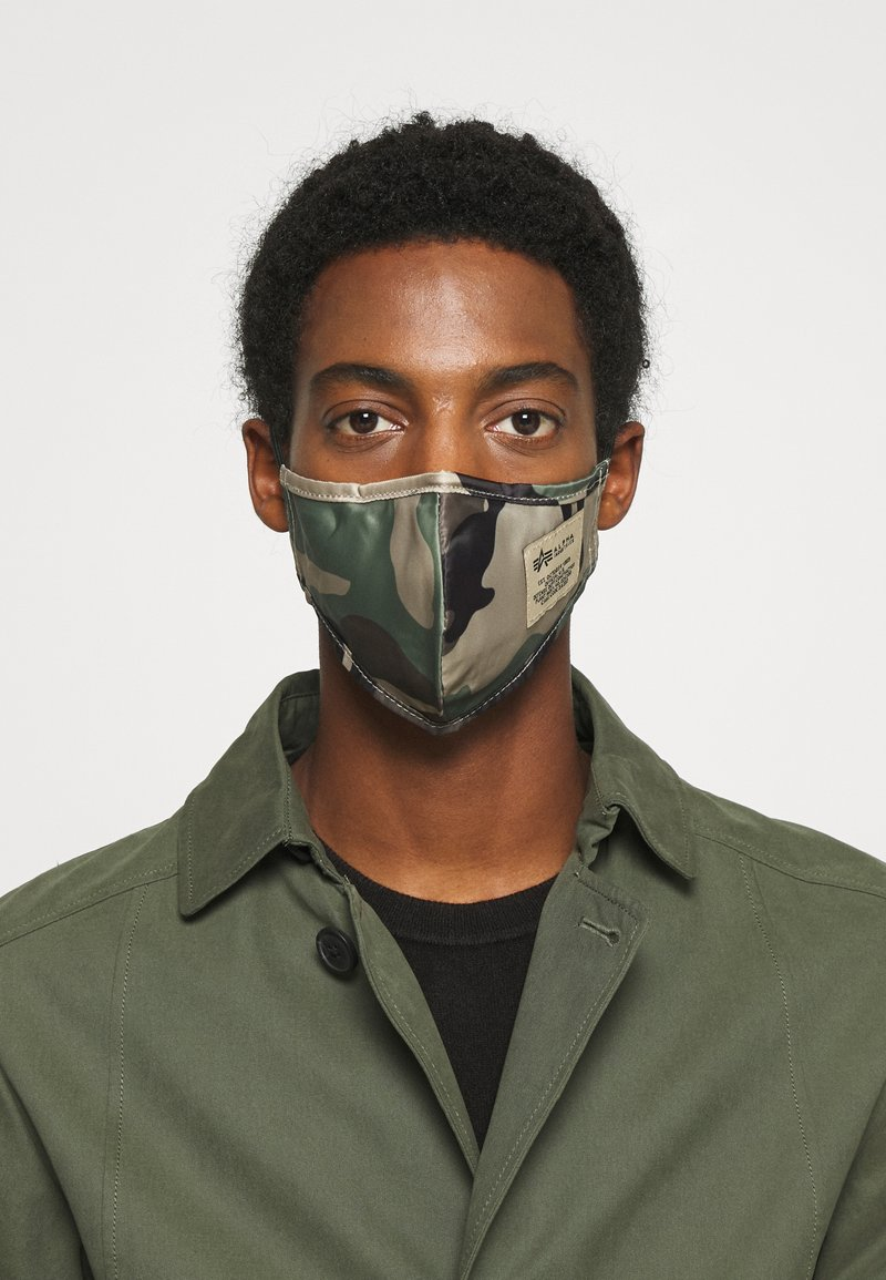 Alpha Industries - FACE MASK UNISEX - Tygmasker - mixed colors