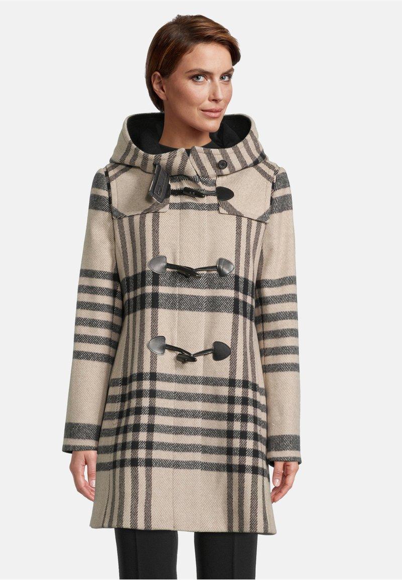 Gil Bret - Winter coat - camel/black
