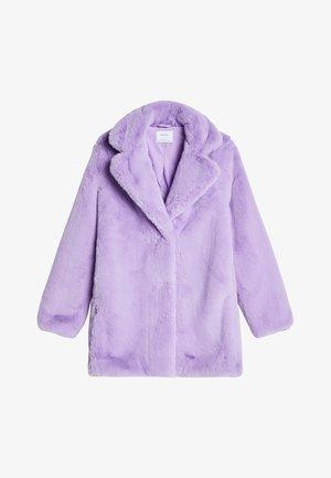 Płaszcz wełniany /Płaszcz klasyczny - mauve