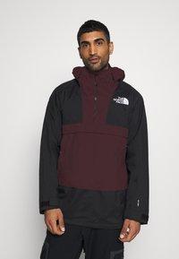 The North Face - SILVANI ANORAK - Ski jacket - bordeaux/black - 0