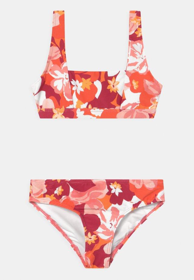 VINTAGE VACAY SQUARE NECK SET - Bikini - fanta